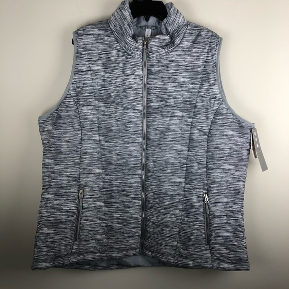 Ideology Jackets & Blazers - NWT Ideology Active Vest Outerwear 2X N901